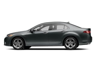Graphite Luster Metallic 2013 Acura TSX Pictures TSX Sedan 4D Technology V6 photos side view