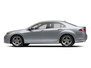 Forged Silver Metallic 2013 Acura TSX Pictures TSX Sedan 4D Technology V6 photos side view