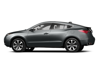 Graphite Luster Metallic 2013 Acura ZDX Pictures ZDX Utility 4D AWD V6 photos side view