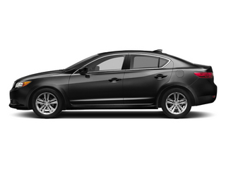 Crystal Black Pearl 2013 Acura ILX Pictures ILX Sedan 4D photos side view
