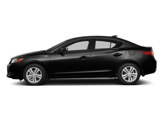 Crystal Black Pearl 2013 Acura ILX Pictures ILX Sedan 4D Hybrid Technology photos side view