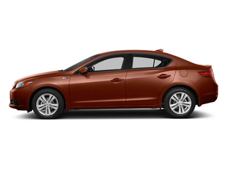 Amber Brownstone Metallic 2013 Acura ILX Pictures ILX Sedan 4D Hybrid Technology photos side view