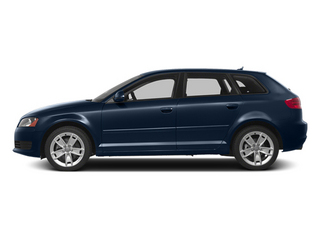 Deep Sea Blue Pearl 2013 Audi A3 Pictures A3 Hatchback 4D 2.0T Premium photos side view