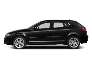 Brilliant Black 2013 Audi A3 Pictures A3 Hatchback 4D 2.0T Premium photos side view