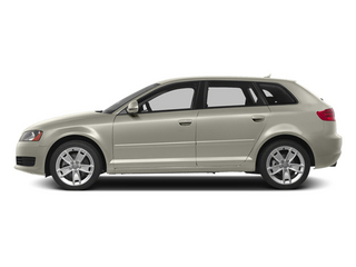 Ice Silver Metallic 2013 Audi A3 Pictures A3 Hatchback 4D 2.0T Premium photos side view