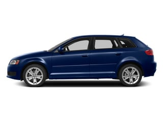 Scuba Blue Metallic 2013 Audi A3 Pictures A3 Hatchback 4D 2.0T Premium photos side view