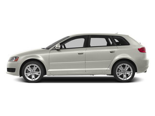 Ibis White 2013 Audi A3 Pictures A3 Hatchback 4D 2.0T Premium photos side view