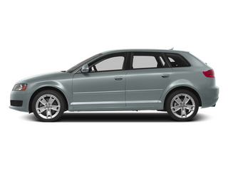Monza Silver Metallic 2013 Audi A3 Pictures A3 Hatchback 4D 2.0T Premium photos side view
