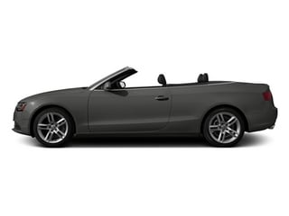 Monsoon Gray Metallic 2013 Audi A5 Pictures A5 Convertible 2D Premium 2WD photos side view