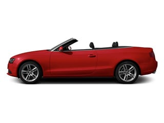 Brilliant Red 2013 Audi A5 Pictures A5 Convertible 2D Premium Plus 2WD photos side view