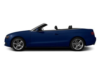 Scuba Blue Metallic 2013 Audi A5 Pictures A5 Convertible 2D Premium 2WD photos side view