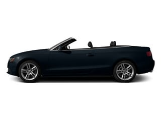 Moonlight Blue Metallic 2013 Audi A5 Pictures A5 Convertible 2D Premium 2WD photos side view