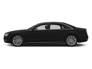 Oolong Grey Metallic 2013 Audi A8 L Pictures A8 L Sedan 4D 3.0T L AWD V6 Turbo photos side view