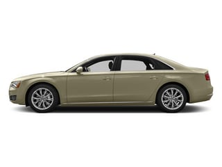 Savana Beige Pearl 2013 Audi A8 L Pictures A8 L Sedan 4D 6.3 L AWD W12 photos side view