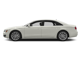 Ibis White 2013 Audi A8 L Pictures A8 L Sedan 4D 3.0T L AWD V6 Turbo photos side view