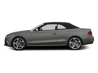 Monsoon Gray Metallic 2013 Audi S5 Pictures S5 Convertible 2D S5 Prestige AWD photos side view