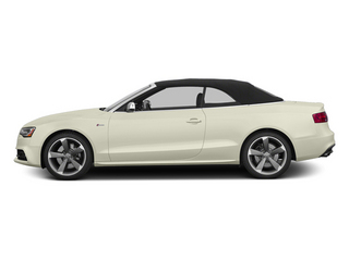 Glacier White Metallic 2013 Audi S5 Pictures S5 Convertible 2D S5 Prestige AWD photos side view