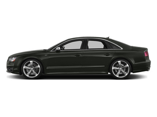 Daytona Gray Pearl 2013 Audi S8 Pictures S8 Sedan 4D S8 AWD photos side view