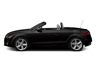 Oolong Gray Metallic 2013 Audi TTS Pictures TTS Roadster 2D Prestige AWD photos side view