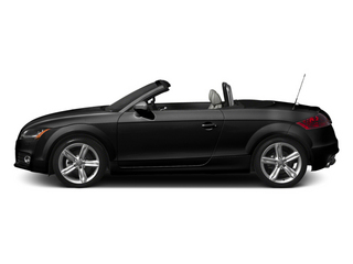 Brilliant Black 2013 Audi TT Pictures TT Roadster 2D Prestige AWD photos side view