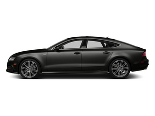 Havanna Black Metallic 2013 Audi A7 Pictures A7 Sedan 4D 3.0T Premium Plus AWD photos side view