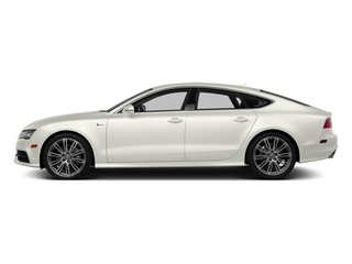 Ibis White 2013 Audi A7 Pictures A7 Sedan 4D 3.0T Premium Plus AWD photos side view
