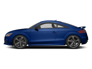 Sepang Blue Pearl 2013 Audi TT RS Pictures TT RS Coupe 2D RS AWD photos side view