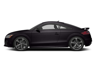 Panther Black Crystal 2013 Audi TT RS Pictures TT RS Coupe 2D RS AWD photos side view