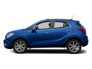 Brilliant Blue Metallic 2013 Buick Encore Pictures Encore Utility 4D AWD I4 Turbo photos side view
