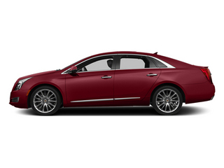 Crystal Red Tintcoat 2013 Cadillac XTS Pictures XTS Sedan 4D Premium AWD photos side view