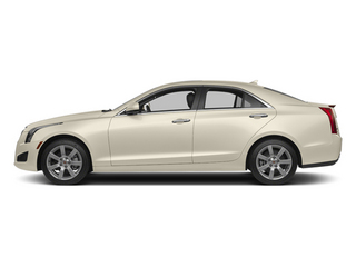 White Diamond Tricoat 2013 Cadillac ATS Pictures ATS Sedan 4D Luxury photos side view