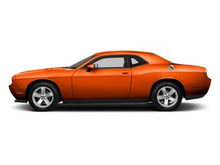 Hemi Orange Pearl 2013 Dodge Challenger Pictures Challenger Coupe 2D SRT-8 Core V8 photos side view
