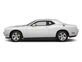 Bright White 2013 Dodge Challenger Pictures Challenger Coupe 2D SRT-8 Core V8 photos side view