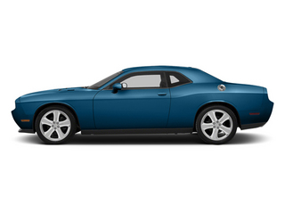 Jazz Blue Pearl 2013 Dodge Challenger Pictures Challenger Coupe 2D R/T V8 photos side view