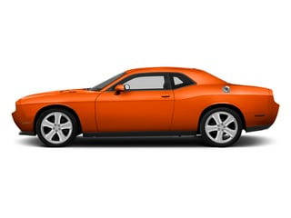 Hemi Orange Pearl 2013 Dodge Challenger Pictures Challenger Coupe 2D R/T V8 photos side view