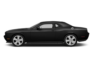 Black 2013 Dodge Challenger Pictures Challenger Coupe 2D R/T V8 photos side view