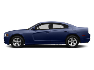 Jazz Blue Pearl 2013 Dodge Charger Pictures Charger Sedan 4D SE AWD V6 photos side view