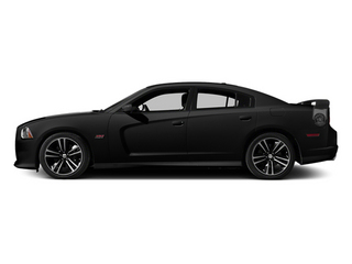 Pitch Black 2013 Dodge Charger Pictures Charger Sedan 4D SRT-8 Super Bee V8 photos side view