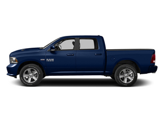 True Blue Pearl 2013 Ram Truck 1500 Pictures 1500 Crew Cab Express 2WD photos side view