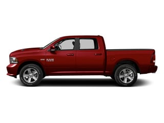 Deep Cherry Red Crystal Pearl 2013 Ram Truck 1500 Pictures 1500 Crew Cab Express 2WD photos side view