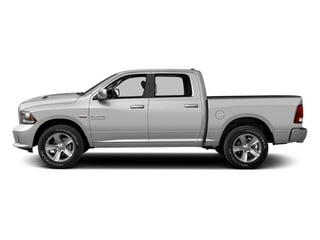 Bright Silver Metallic 2013 Ram Truck 1500 Pictures 1500 Crew Cab Tradesman 2WD photos side view