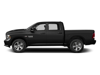 Black 2013 Ram Truck 1500 Pictures 1500 Crew Cab Tradesman 2WD photos side view