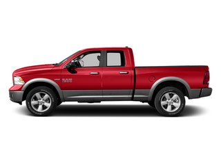 Flame Red 2013 Ram 1500 Pictures 1500 Quad Cab Sport 4WD photos side view