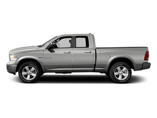 Bright Silver Metallic 2013 Ram 1500 Pictures 1500 Quad Cab Sport 4WD photos side view