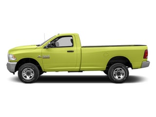 National Fire Safety Lime Yellow 2013 Ram 2500 Pictures 2500 Regular Cab SLT 2WD photos side view