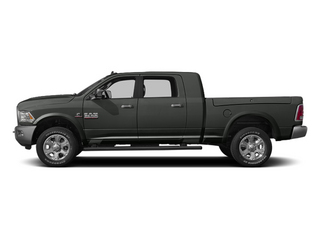 Mineral Gray Metallic 2013 Ram Truck 3500 Pictures 3500 Mega Cab Limited 4WD photos side view