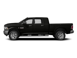 Black 2013 Ram Truck 3500 Pictures 3500 Mega Cab Limited 4WD photos side view