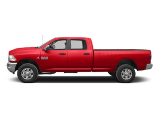 Bright Red 2013 Ram Truck 3500 Pictures 3500 Crew Cab SLT 4WD photos side view