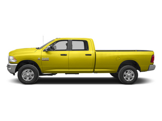 Yellow 2013 Ram Truck 3500 Pictures 3500 Crew Cab SLT 4WD photos side view