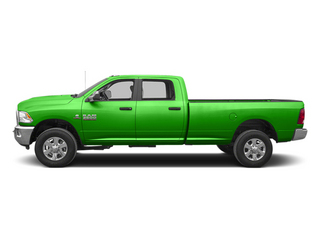Bright Green 2013 Ram Truck 3500 Pictures 3500 Crew Cab SLT 4WD photos side view